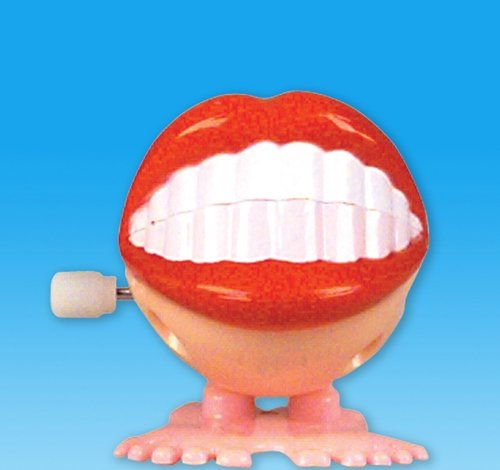 WIND UP SMILE TEETH, Case of 576 by DollarItemDirect (Image #1)