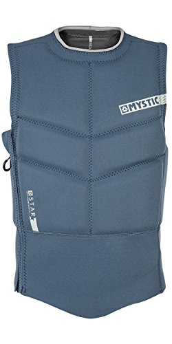 Mystic 2018 Star Side Zip Kite Impact Vest Navy 180088 Sizes- - ()