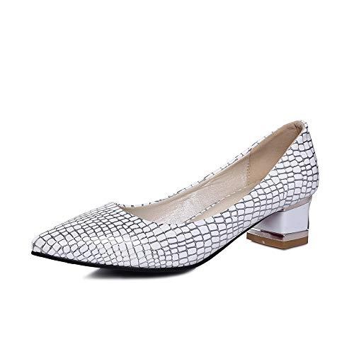 Argenté AdeeSu Sandales Compensées Femme 36 Silver 5 SDC05556 xPOqAOwT