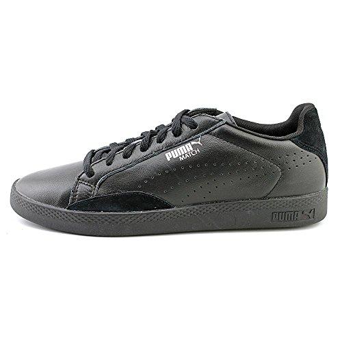 PUMA Damen Match Lo Basic Sport Sportstyle Sneaker Schwarz Schwarz