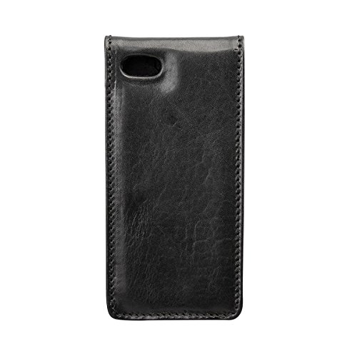 Maxwell Scott Personalized Iphone 5/5s Black Leather Flip Case for Cell (Renato) by Maxwell Scott Bags (Image #2)