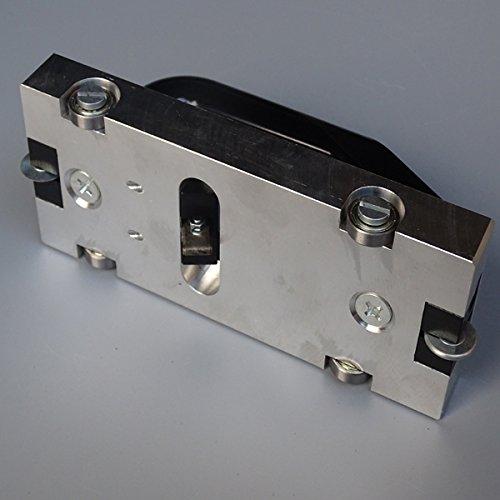 U Type Blade Wheeled Groover Grooving Slotting Pull Hand Tool Slotter PVC Vinyl Floor Welding
