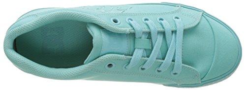 Tx Shoes Dc aqua Femme Basses Bleu Baskets Chelsea 4gaxaq6