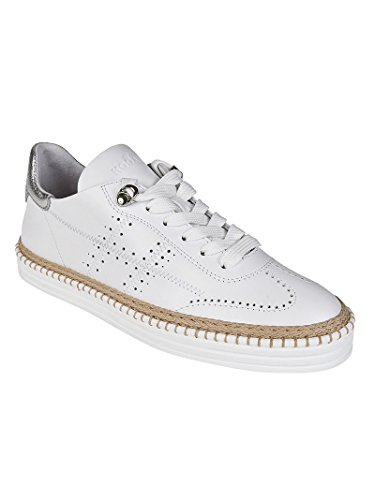Hogan Sneaker R260 Bianche En Cuir Blanc Hxw2600ad30igg