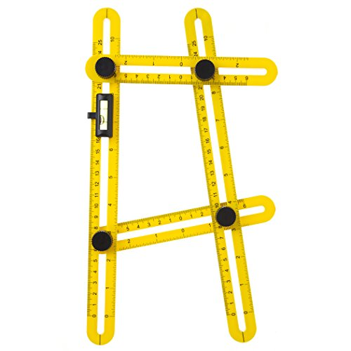 Buself Template Tool All Angles and Forms Angle Buzz Digger Template Tool the Buzz Digger Tool for Handymen, Builders, Craftsmen (Screw Digger)