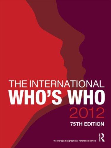 [B.o.o.k] The International Who's Who 2012 P.D.F