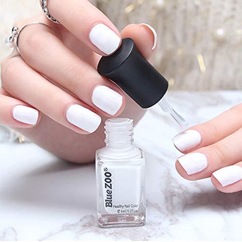 (HCFKJ 6ml Popular Beauty Colorfu Series Nail Art Polish Professional B)
