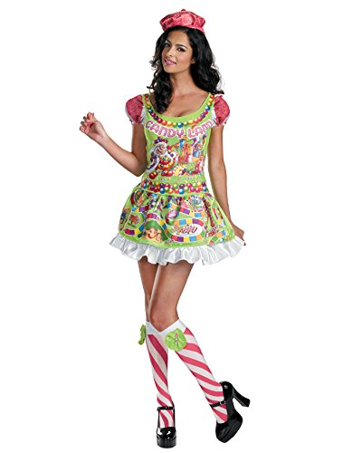 Board Game Costume Candyland Game Funny Costume Womens Halloween Costume Sizes: Medium