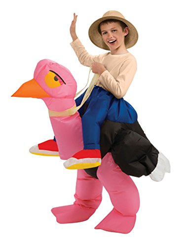Inflatable Ride-On Ostrich Boy's -