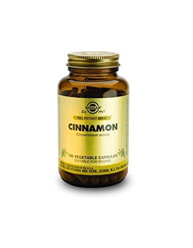 Solgar Potency Cinnamon Vegetable Capsules