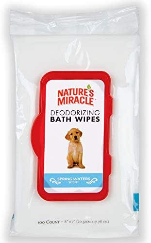 Dog Grooming: Nature's Miracle Bath Wipes