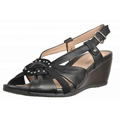 Sandalias y chanclas para mujer, color Negro , marca STONEFLY, modelo Sandalias Y Chanclas Para Mujer STONEFLY SWEET Ll 16 Negro Negro