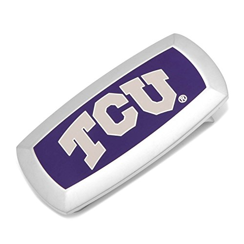 NCAA TCU Horned Frogs Cushion Money Clip, Officially Licensed