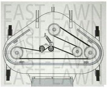 Countax Westwood Equiv 42 IBS Cut Belt 22870000 C600H C600-4WD