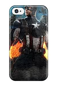 For Iphone 4/4s Tpu Phone Case Cover(the Avengers 65)