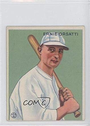 Amazoncom Ernie Orsatti Baseball Card 1933 Goudey Big
