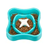 IAMUQ Slow Feeder Bowl - Maze Design - Slow Eating Dog Bowl - Health Pet Bloat Stop Dog Bowl - Hold 1 Cups of Food