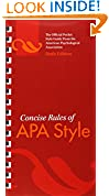 #6: Concise Rules of APA Style