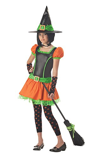 Sassy Pumpkin Witch Tween Costume Size X-Large