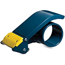 """WOD Excell ET-366 Heavy Duty Metal Frame Filament Strapping Tape Dispenser: Fits up to 3"""" wide, Chrome"""