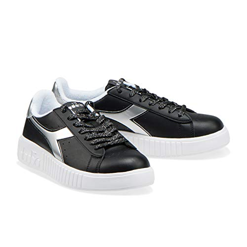 Step P Sneakers Donna silver C0787 Game Black Diadora Per 6qTtnwxtC