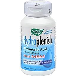 Nature\'s Way Hydraplenish Plus MSM - 60 Capsules