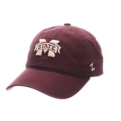 Mississippi State Cap - NCAA Mississippi State Bulldogs Men's Scholarship Relaxed Hat, Adjustable Size, Team Color