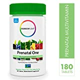 Rainbow Light Prenatal One Non-GMO Project Verified Multivitamin Plus Superfoods & Probiotics - 180 Tablets