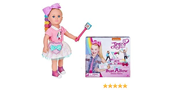 48725c54f1 Amazon.com  myLife Brand Products My Life As JoJo Siwa 18 Inch Doll and  Bust A Bow Dance Game Ultimate Gift Set  Toys   Games