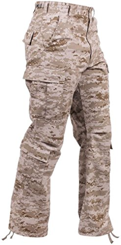 Bellawjace Clothing Vintage Desert Digital Camo USMC Paratrooper Pants Tactical Military Bdus