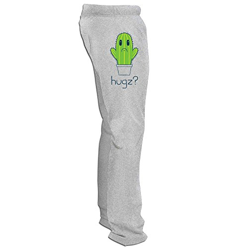 Yesher Particular Men's Hugz Cactus Training Pants - Ash Size XXL