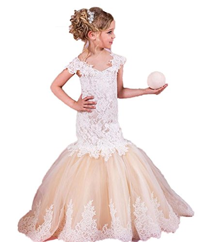 mermaid flower girl dresses - 2