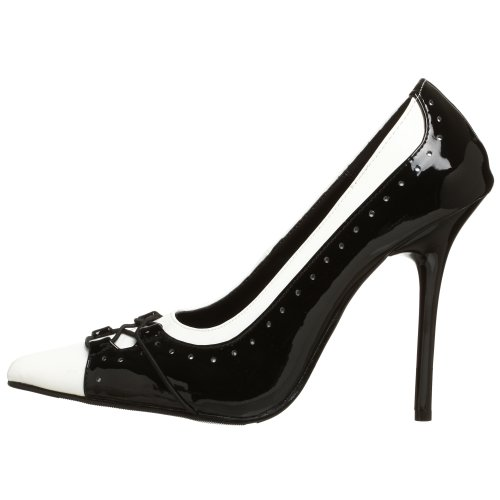 Pleaser Mujer Zapato Mil09 Mil09 bw Pleaser bw Mujer Zapato qO6txwg6T