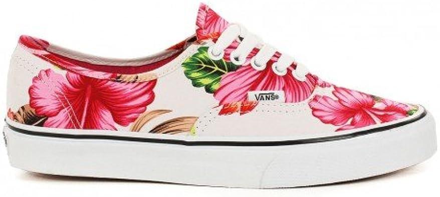 Basket Vans Authentic Blanc à Motif Fleur Hawaiennes: Amazon