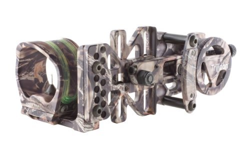 Trijicon AccuPin Bow Sight Green Triangle with Dovetail Base