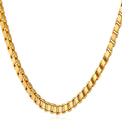 Chain Necklace Women Plated Jewelry