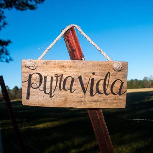 (Pura vida Pallet sign, Costa Rica Travel gift)