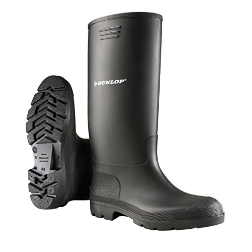 Dunlop Pricemastor PVC Welly / Womens Boots Black 2UK7o
