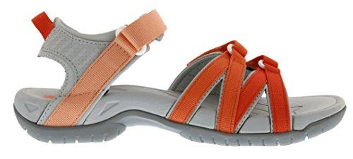 Femme Orange coral De 572 Teva Tirra Sandales Gradient Sport W's XwBv6Y