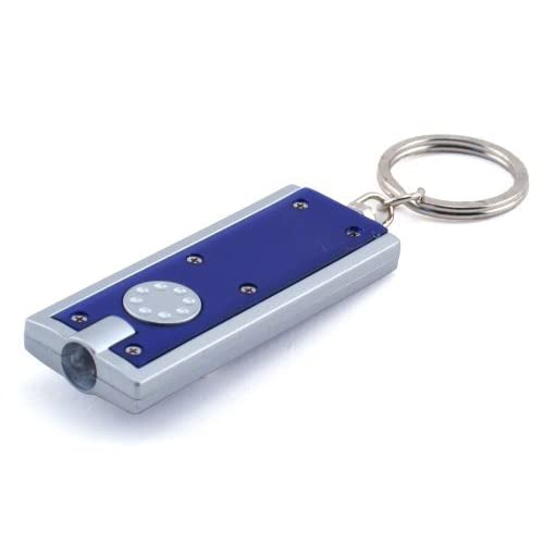 fantastic_008 Classics Portable Thin Mini LED Flashlight on Keychain, Assorted Colors