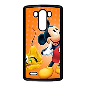 LG G3 Cell Phone Case Black Mickey Mouse JNR2083780