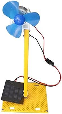DIY Ensamble Mini Generador de Energía Solar Ventilador de Motor Juguete de Desarrollo de Inteligencia para Niños: Amazon.es: Juguetes y juegos