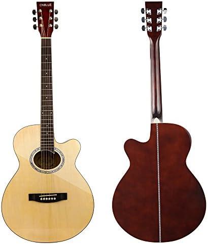 Guitarra acústica para principiantes estudiantes amantes de la ...