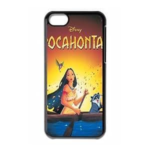 iPhone 5c Cell Phone Case Black Pocahontas 007 WH9488243