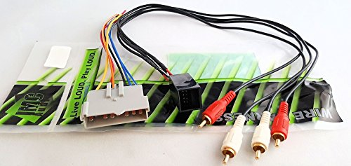 METRA 70-5510 FORD 1986-00 AMP INTEGRATION HARNESS FOR AFTERMARKET RADIO INSTALL (5510 Adapter)