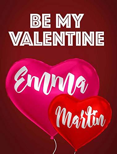 Personalised Cute Valentine Print Boyfriend Girlfriend Him Her Wife Husband...