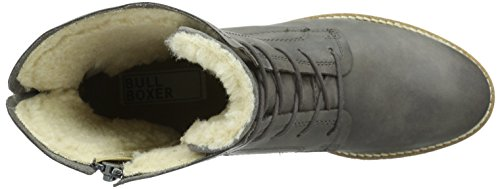 Bullboxer 683643e6l, Women's Warm-Lined Short-Shaft Boots and Bootees Grey - Grau (Grpht)