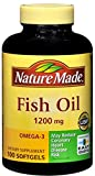 Nature Made Fish Oil 1200 mg Softgels 100 ea (Pack of 9)