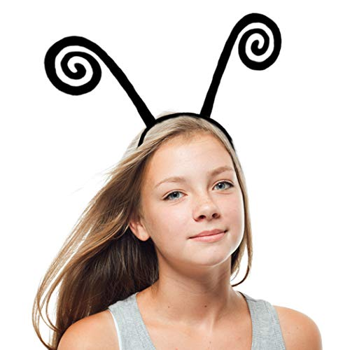 Butterfly Costumes For Children (Black Butterfly Antenna-Headband for Kids Girls Boys Dress Up)