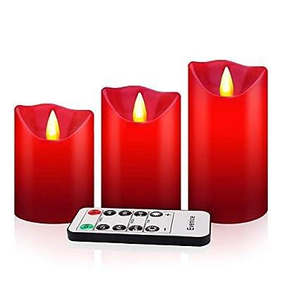 Flameless Candles 3 Set 5 Set 9 Set